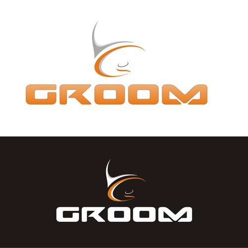 "Create a simple impactful logo named ""Groom"""