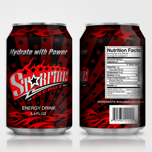 Star Fire Energy needs a new product label