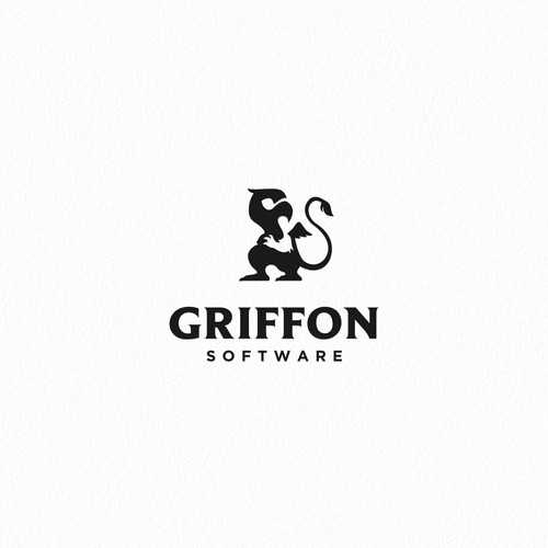Stylized character logo for Griffon Software