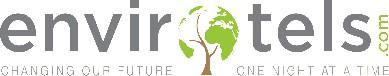 Design a logo for a unique eco-hotel booking website start up