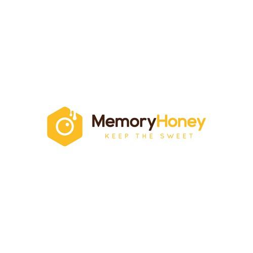 Bold Logo For Honey and Camera