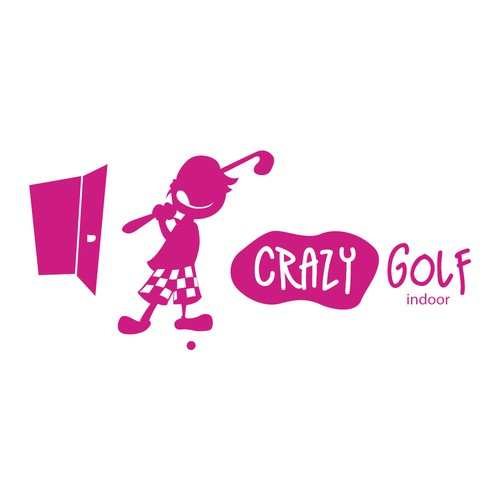"New Logo Design wanted for ""Crazy Golf"""