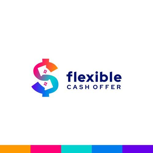 Flexible Cash Offer logo design
