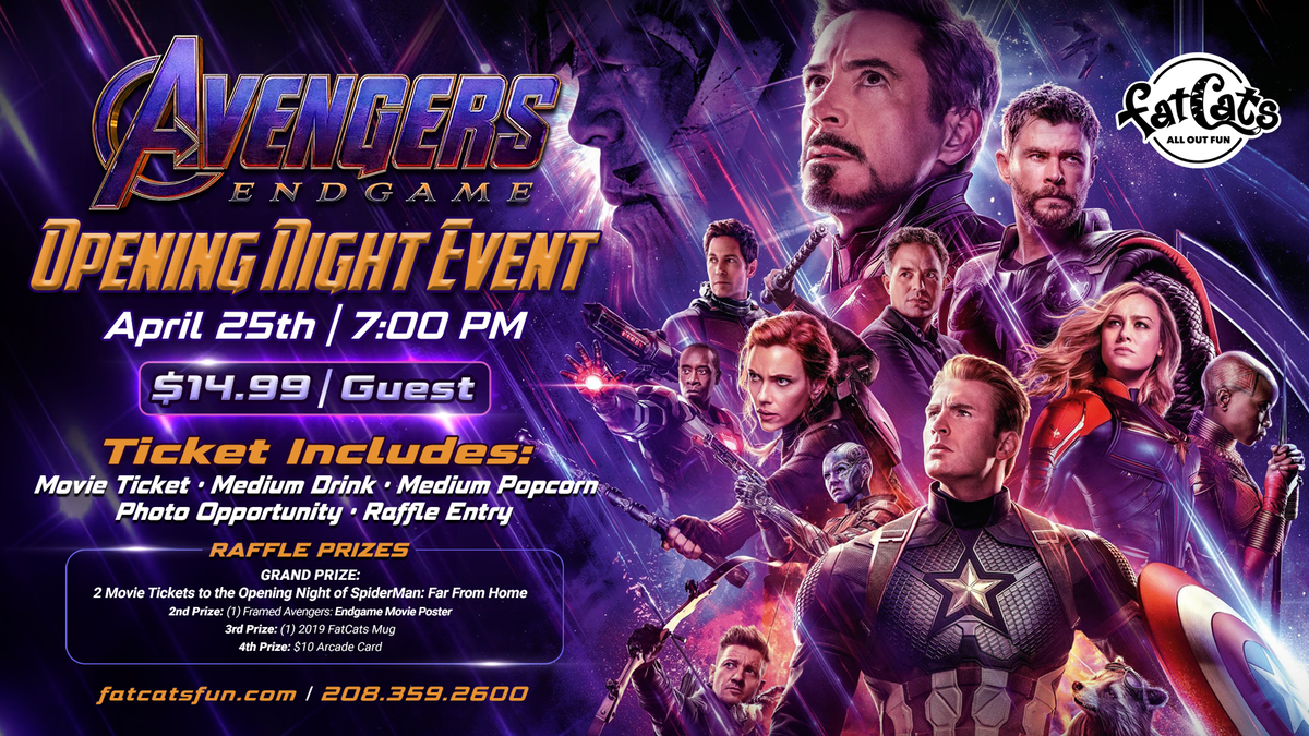 Avengers Movie Event Poster