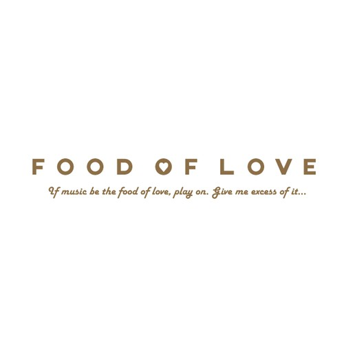 Logo for a food blog