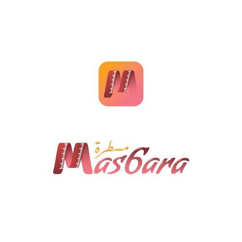 Mas6ara arabic logo