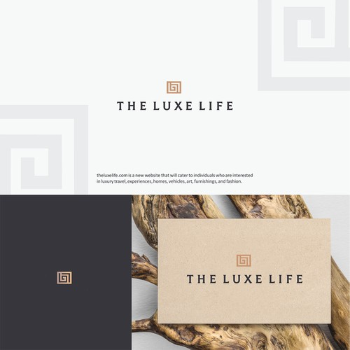 Logo for The Luxe Life