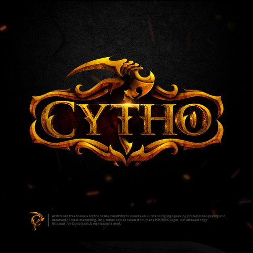"Cytho A play on the word ""scythe"" that suggests power, strength, and efficient tools."