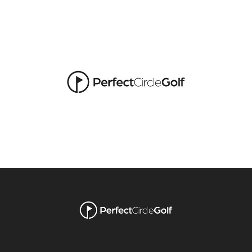 Logo for a golf instructors