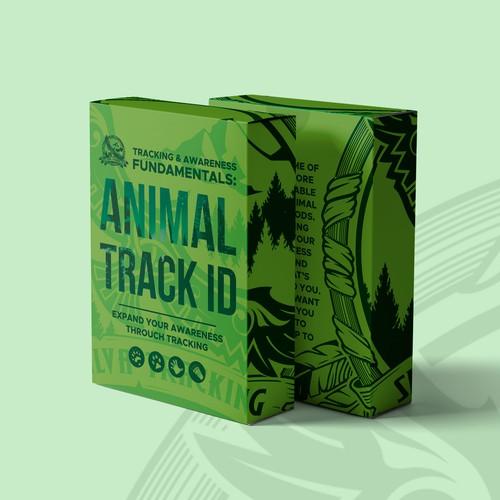 Animal Track ID Flash Cards