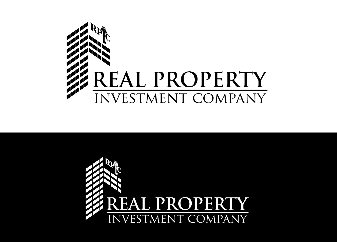 "LOGO for ""Real Property Investment Company"" with accronym of ""RPIC"""
