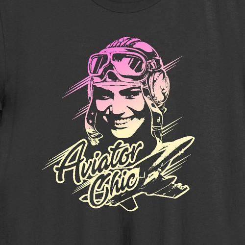 design for Aviator Chick