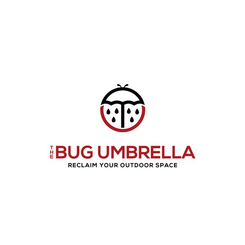 Creative Logo Concept for Outdoor Umbrella
