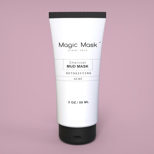 Minimalist Label for skin care product
