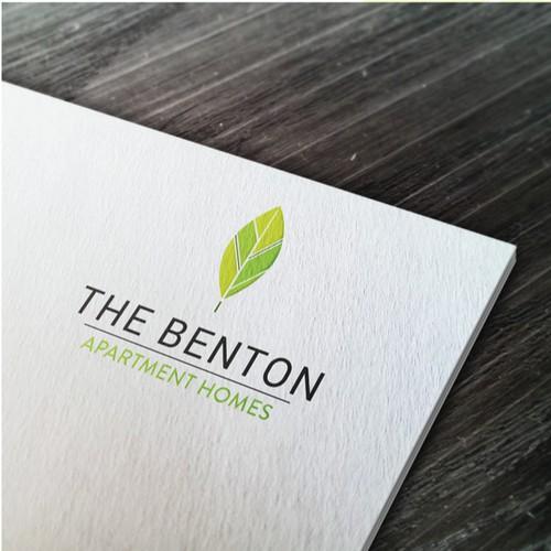 Logo for The Benton apartment homes
