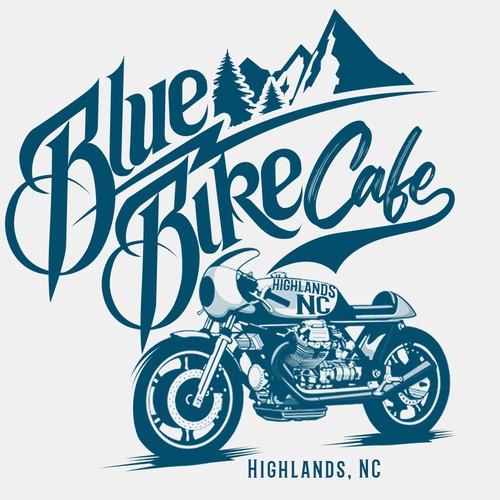 Cafe Racer T-shirt design