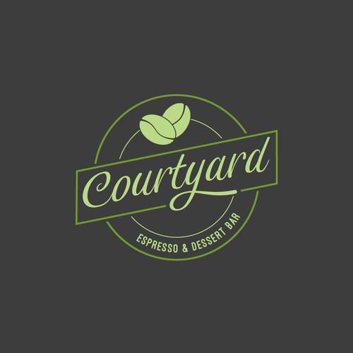 Logo concept for a café