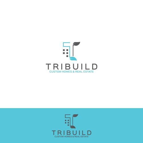 Tribuild logo design