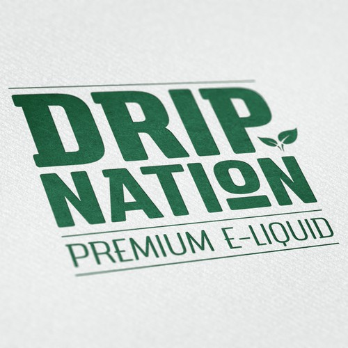 Drip Nation - Design the logo that shakes up the eCig nation