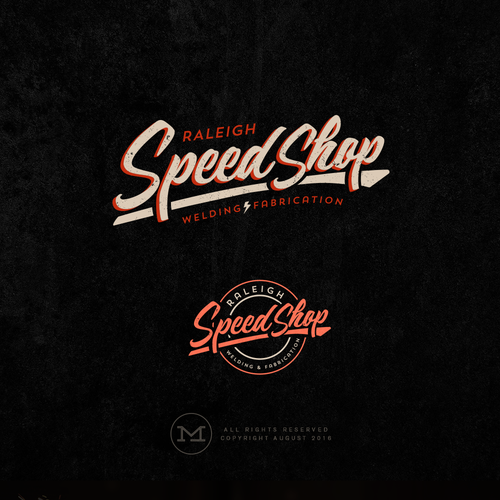Logo Design for Raleigh Speed Shop