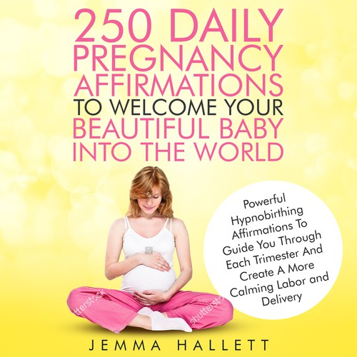 250 daily Pregnancy Affirmations Ebook Cover
