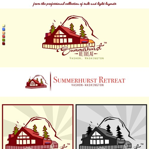 Make an awesome logo for vacation rental home