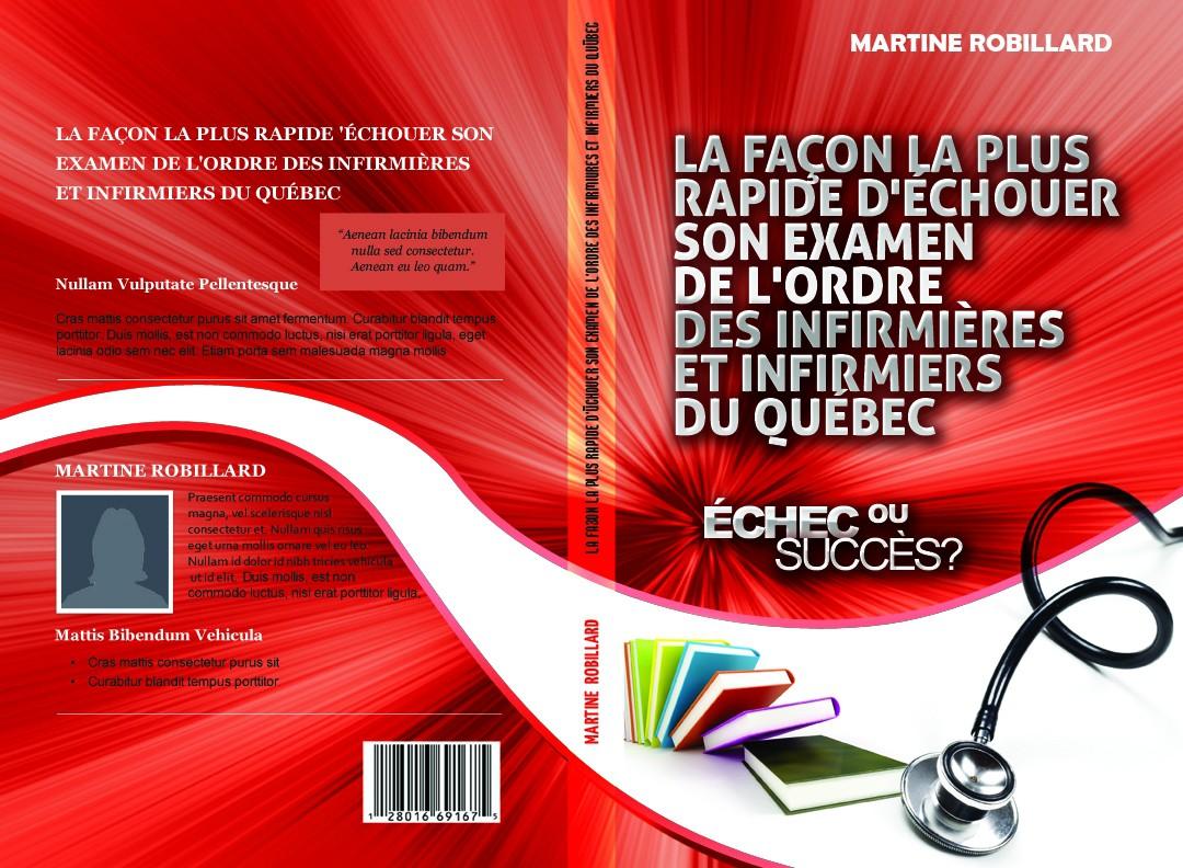 Create a book cover for Martine Robillard