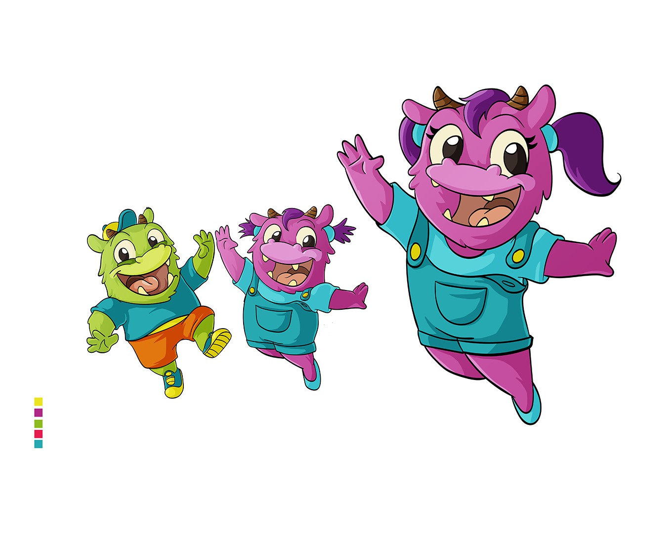 We need 2 mascots for Kids