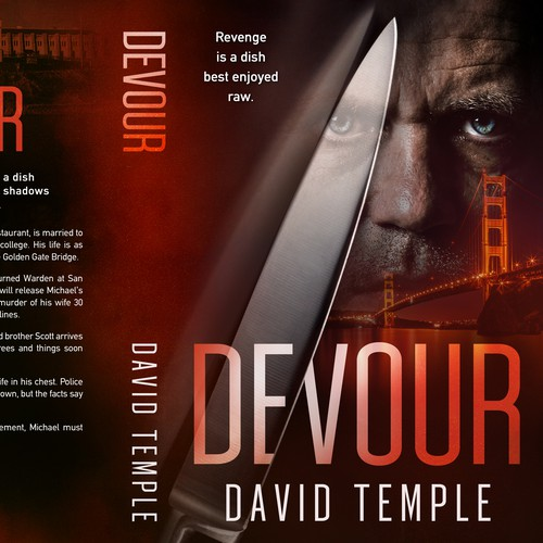 """Devour"", a Thriller by David Temple"