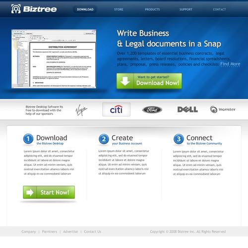 New Website Design for Biztree.com