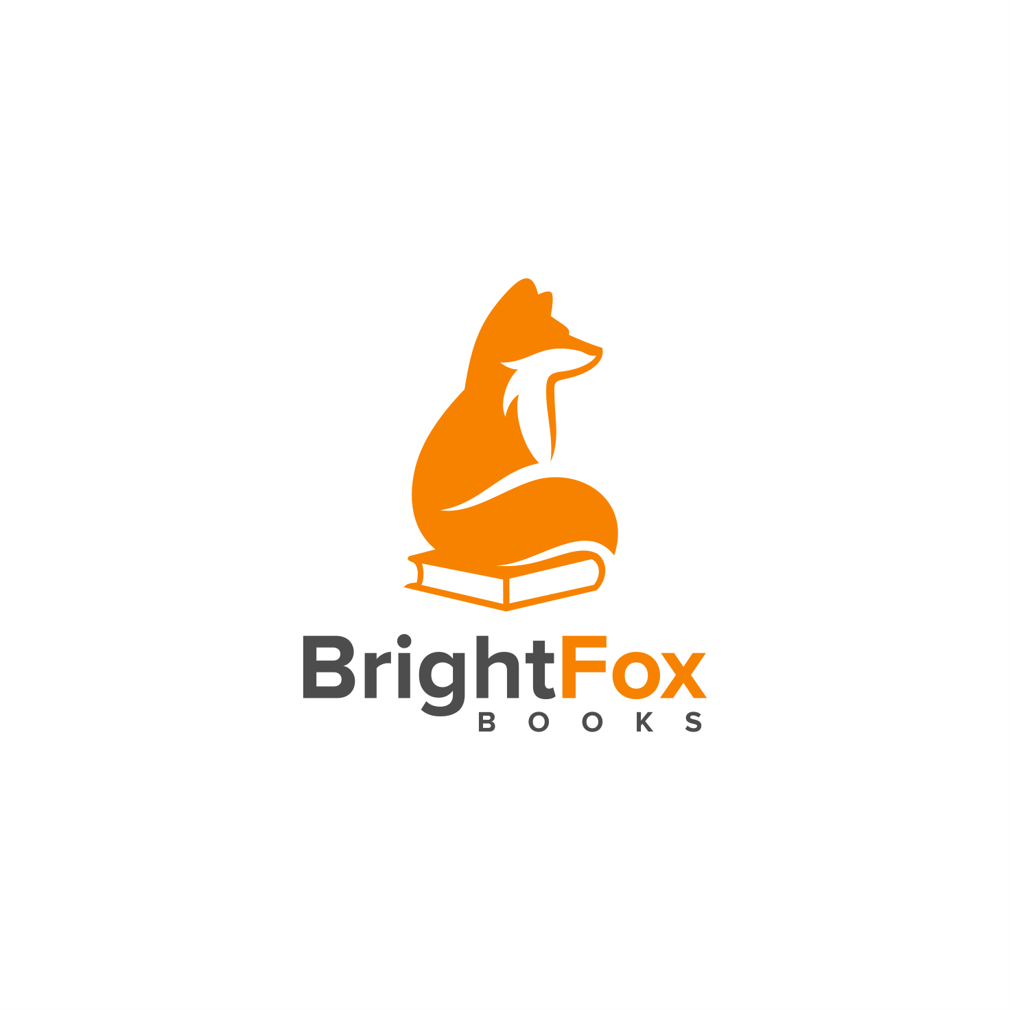 Grab readers for Bright Fox Books with a simple but powerful logo.