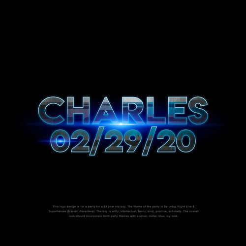 Charles birthday poster