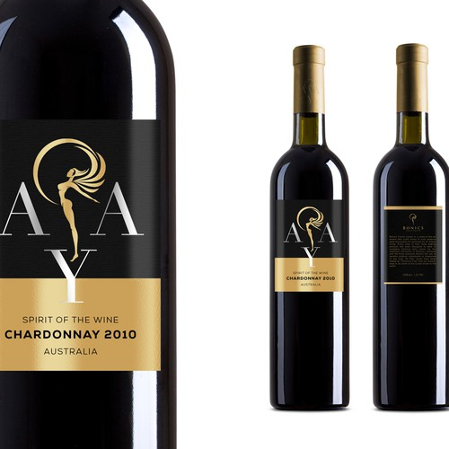 All New Luxury Wine Label