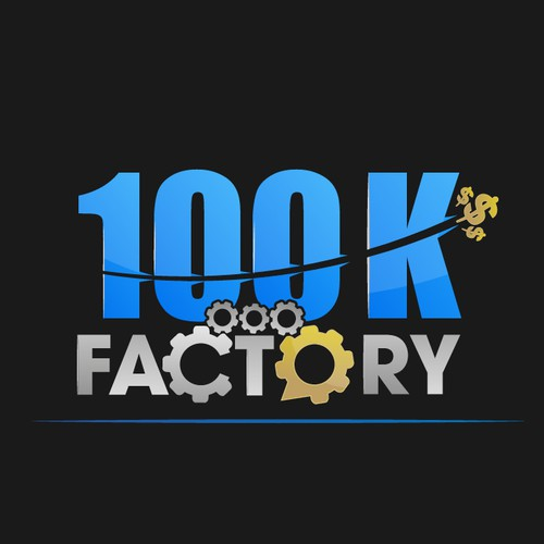 Logo needed for internet marketing training course: **100k Factory**