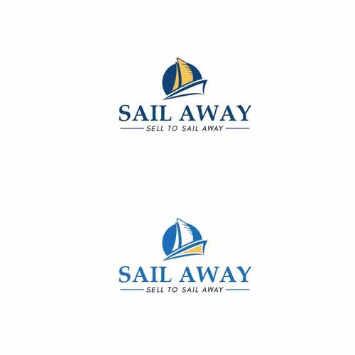 Logo concept for Sail away