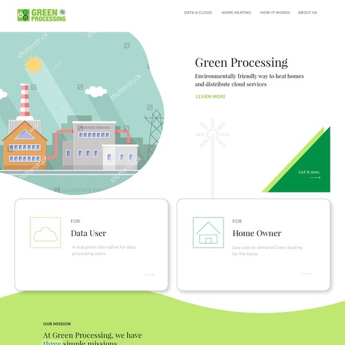 Green Processing Website