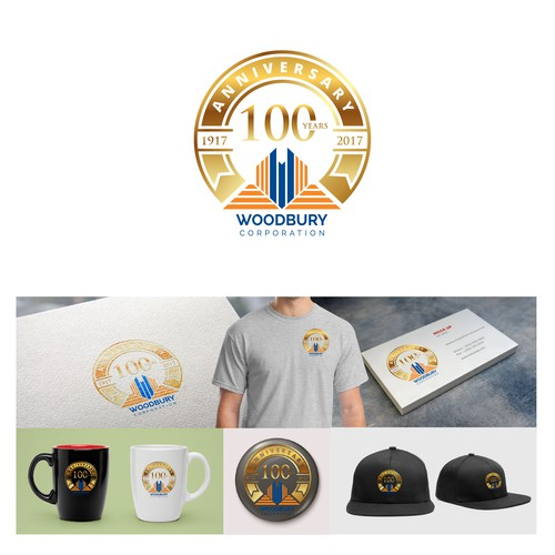 logo concept for 100 year anniversary