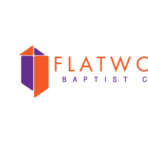 Create a church logo for Flatwoods Baptist Church
