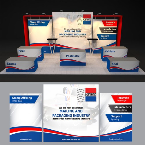 Booth Design for Postmatic