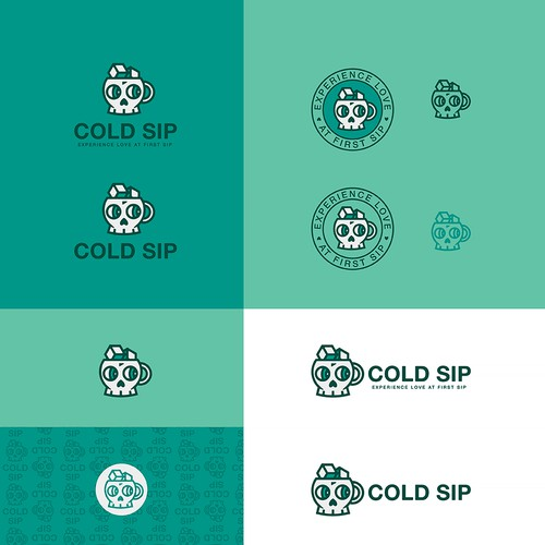Cold Sip - logo design