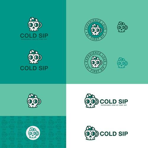 Cold Sip - logo design