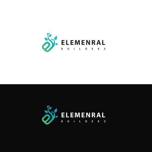 Colorful Nature Theme Logo Idea For Sale