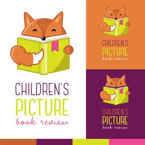 Logo for children's book review website