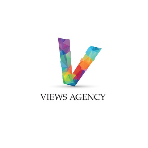 Colorful logo for photoagency