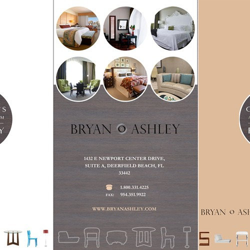 Create an award-winning, designer brochure for Bryan Ashley Industries
