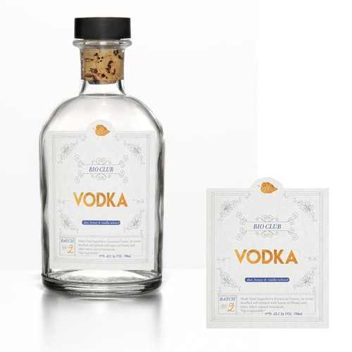 Vodka Label Design