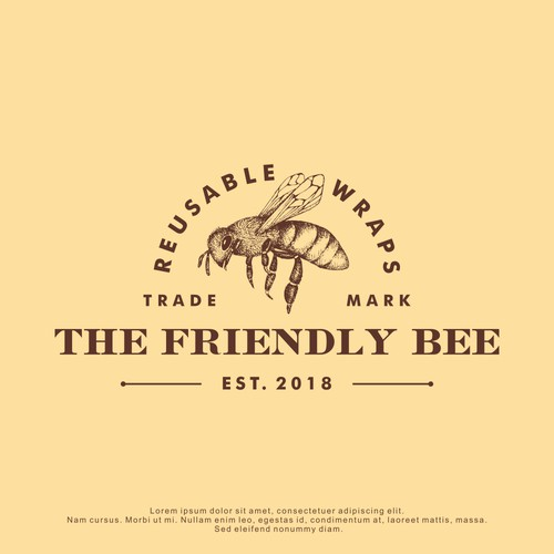 Logo Design for The Friendly Bee
