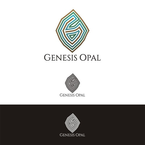 sophisticated and abstract logo