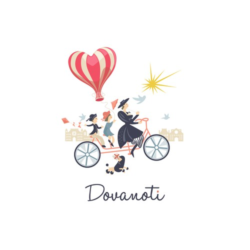Tell a Story with an Engaging Logo for Dovanoti
