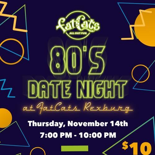 80's flyer
